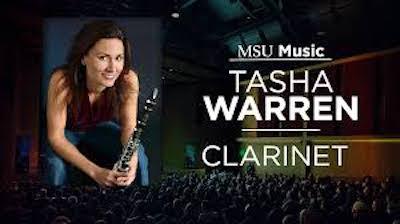 Photo of Tasha Warren, clarinet