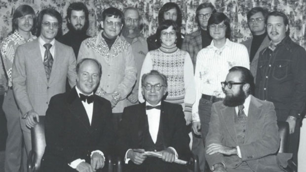 First Annual Composers' Symposium of Wind Music, November 13, 1976. Persichetti, guest composer. image