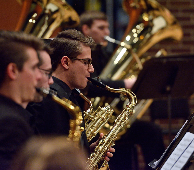 Photo of Saxophone Section