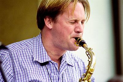 Andrew Speight, professor of jazz saxophone, San Francisco State University.