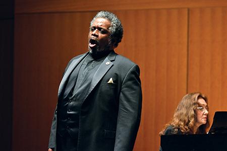 Baritone Mark Rucker, professor of voice at the College of Music