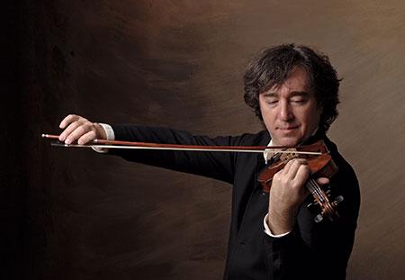 Violinist Dmitri Berlinsky
