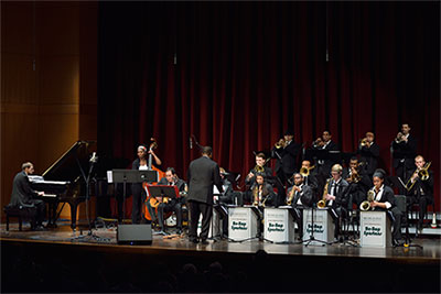 Photo of MSU Jazz Orchestra 1