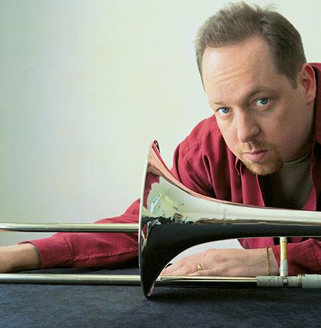 Jazz trombonist, Steve Davis.