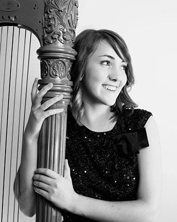 Harpist Belle Coty