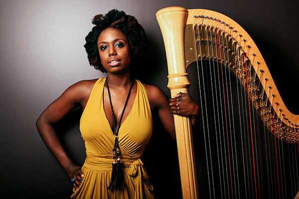 Jazz harpist Brandee Younger