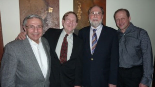 2012, Leon Gregorian, Ron Newman, Jere Hutchenson, and Phil Sinder. image