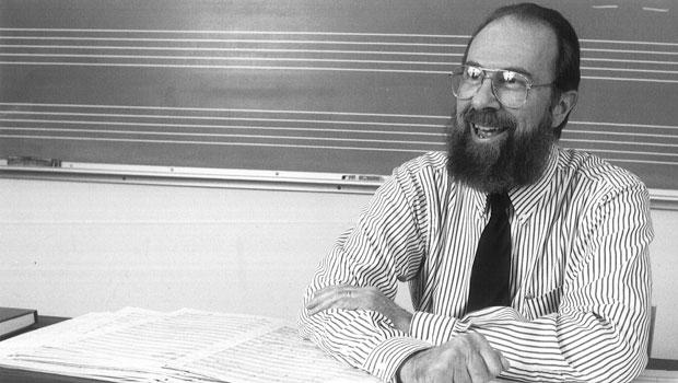 1995, Jere Hutchenson in the classroom. image