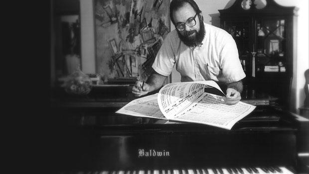 1995, Jere Hutchenson in his studio. image