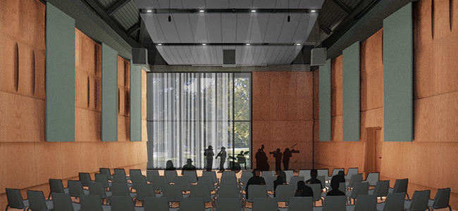 The MSU Jazz Studies Program will be enhanced with premier rehearsal and performance facilities. image