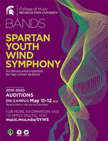 Spartan Youth Wind Symphony | MSU College of Music