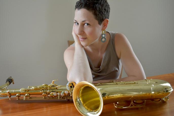 Photo of saxophonist Noa Even