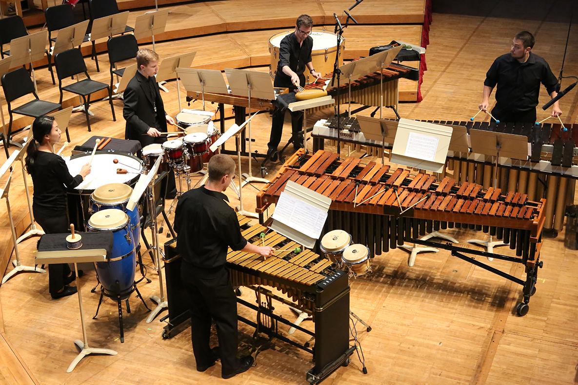Photo of Percussion Ensemble