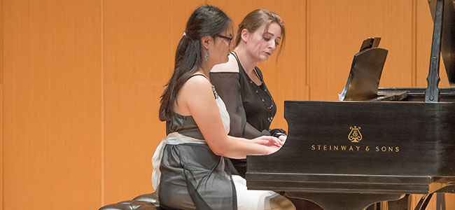 Week-long program culminates with a finale concert image