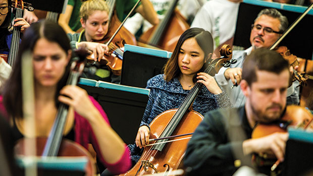 The College of Music at a glance… image