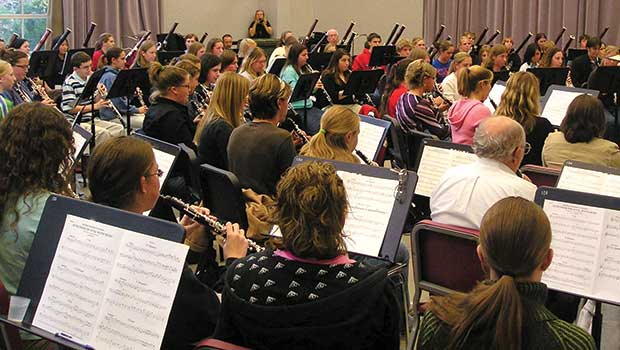 Participate in the instrument day ending Double Reed Choir image