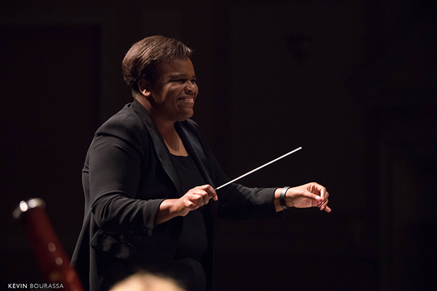 Dr. Arris Golden, conducting at the University of North Carolina at Chapel Hill.