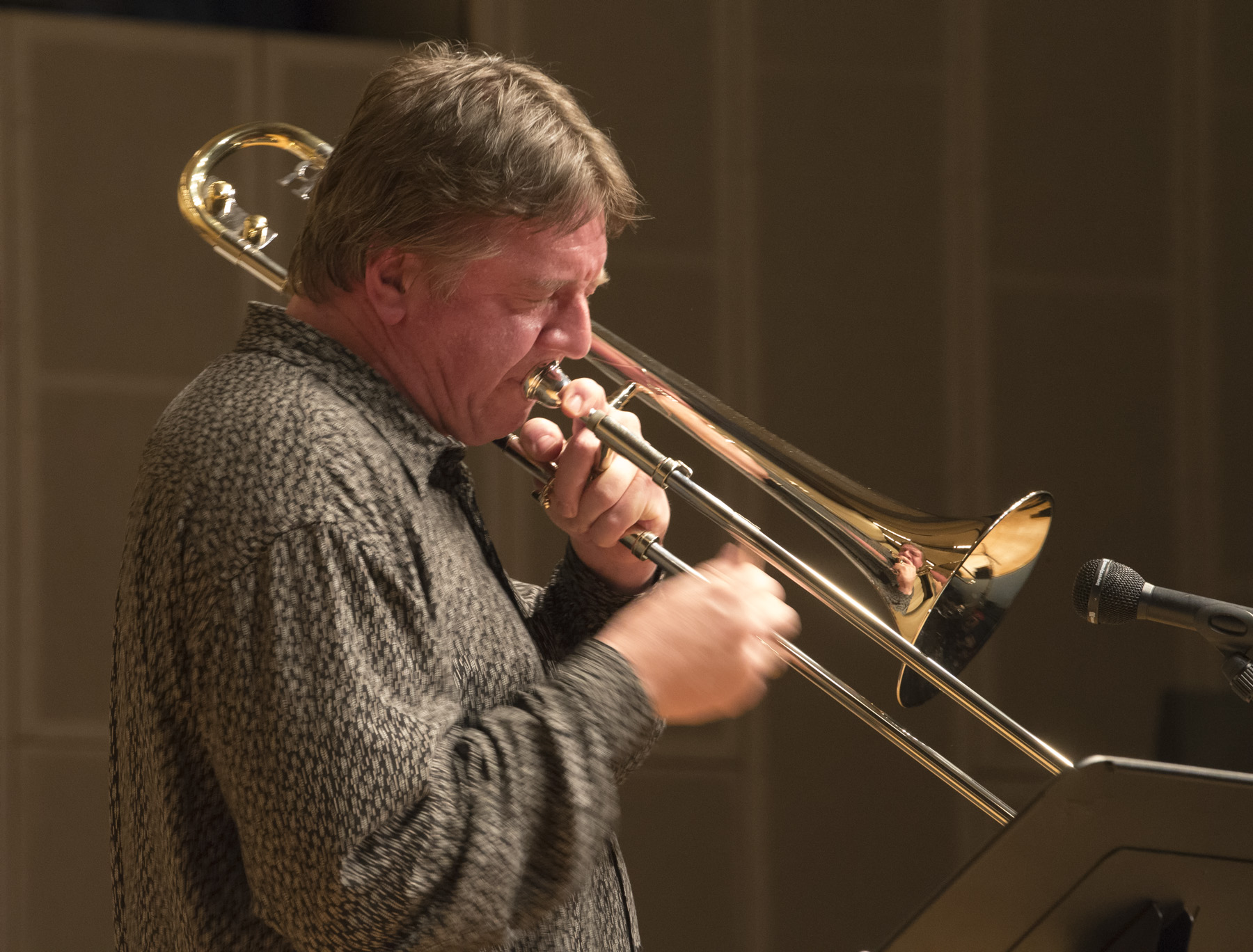 Jazz Orchestras and Jazz Trombonist Conrad Herwig