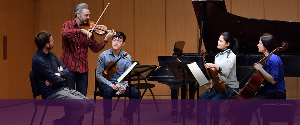 Visiting chamber quartet<br>shares excellence and artistry