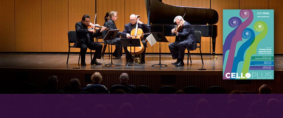 17th Annual Cello Plus series<br>brings remarkable guest artists