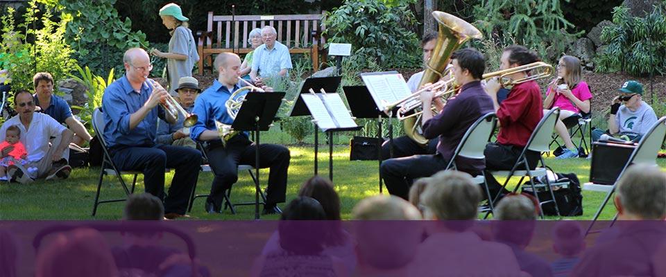 <br>MSU Music in the Garden series