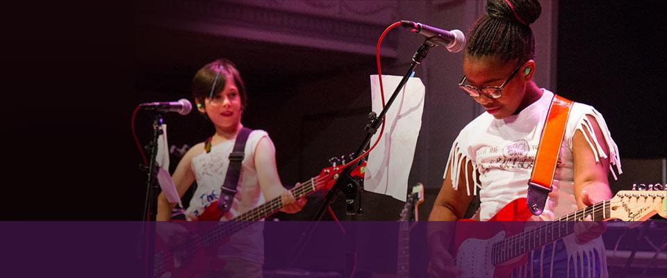 Girls Rock Detroit: MSU Community<br>Music School expands camps.