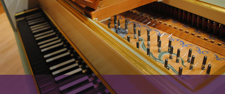 Welcoming a Robert<br>Duffy Harpsichord…