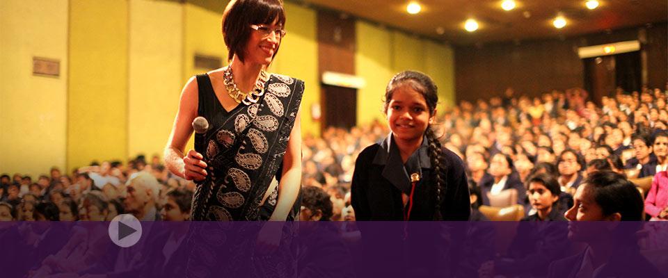 Lifting spirits with music, alumna bridges socio-economic divides
