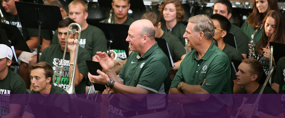 Giving Moves Music: Spartan<br>Marching Band for Kids Concert