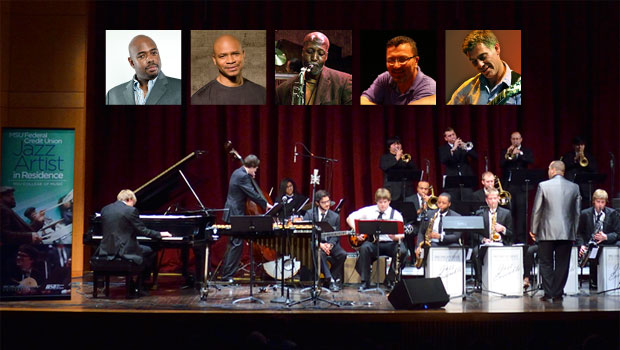 2014/15 MSUFCU Jazz Artists in Residence. image
