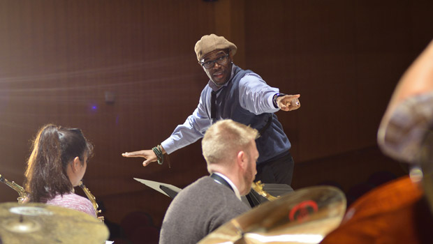 MSU Federal Credit Union Jazz Artist in Residence Program image